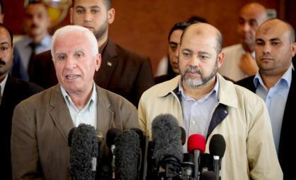 نتائج الحوار مع حركة حماس على طاولة المركزي لتحديد الخطوات اللاحقة في قطاع غزة