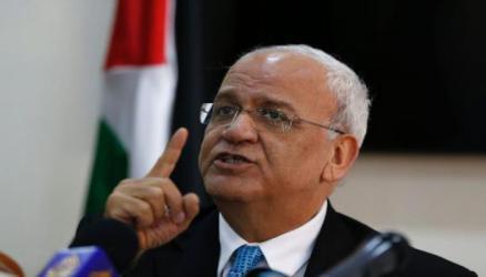 """عريقات يهاجم حماس ويعتبر أي تهدئة مع إسرائيل في غزة قاعدة لـ """"صفقة القرن"""""""