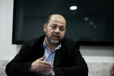 أبو مرزوق يتحدث من القاهرة عن لقاءات حماس والفصائل المتعلقة بالتهدئة بغزة