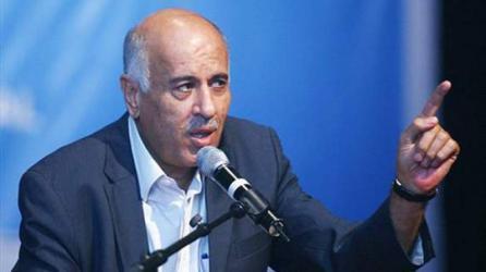 الرجوب: يجب أن تمارس حكومة الوفاق صلاحياتها من رفح إلى جنين