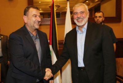 """مصادر عبرية: إسرائيل تلتزم لمصر وميلادينوف بعدم اغتيال """"العاروري"""" في غزة"""