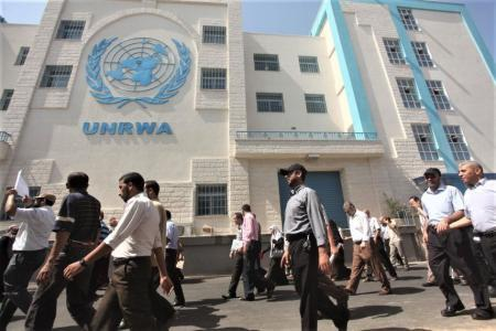 قرار بشأن اعتصام موظفي الأونروا في قطاع غزة