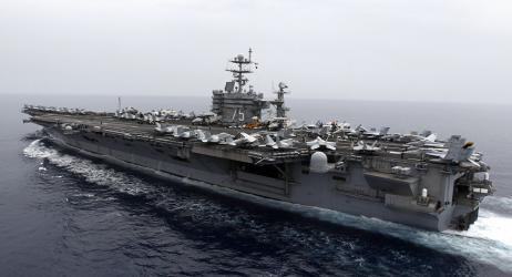 وحدة هجومية للقوات البحرية الأمريكية تدخل البحر المتوسط (فيديو)