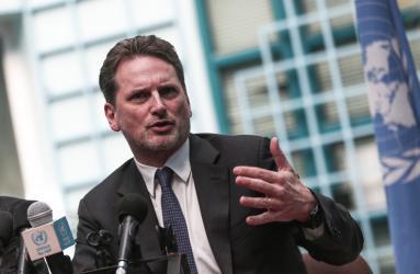كرينبول: تفويض الأونروا ليس للبيع ونواجه عجز 200 مليون دولار