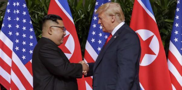 كيم يطلب عقد قمة ثانية مع ترامب