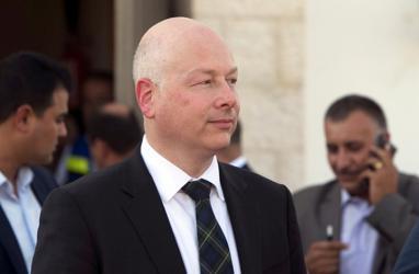 غرينبلات: سنُقدم وثية سلام شاملة تُرضي الفلسطينيين والإسرائيليين