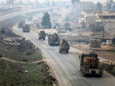 تعزيزات عسكرية تركية كبيرة صوب نقاط المراقبة داخل سوريا