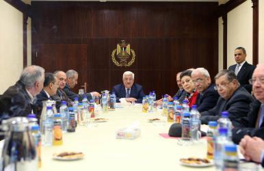 القيادة تجتمع غداً لبحث اجراءات الاحتلال وأميركا ضد القضية الفلسطينية