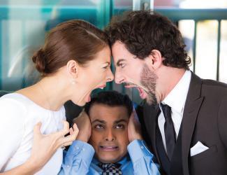 شجار الأزواج يؤدي للإصابة بأمراض خطيرة