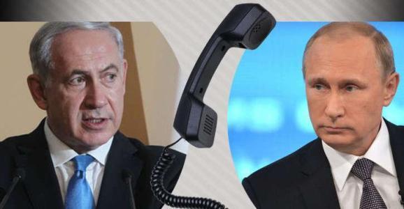 نتنياهو: أجريت اتصالا مع بوتين واتفقنا على الاجتماع وتنسيق النشاط العسكري