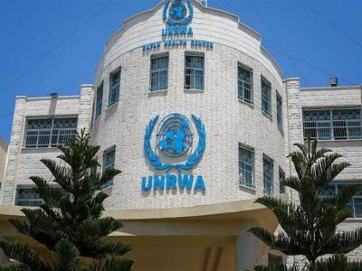 الإضراب يعم كافة مؤسسات الأونروا في غزة