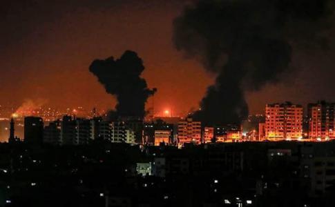 من بينها موقعين لإنتاج أسلحة متقدمة.. الاحتلال: 80 هدفا طالها قصف سلاح الجو في قطاع غزة