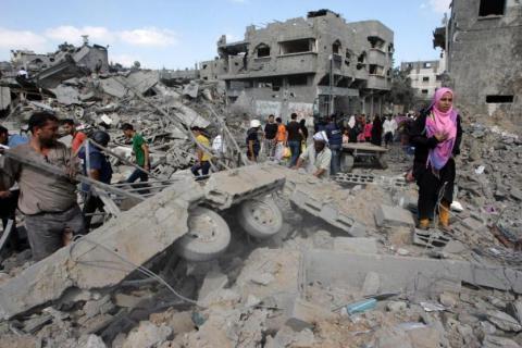 منحة كويتية بـ2.5 مليون دولار لاستكمال إعمار قطاع غزة