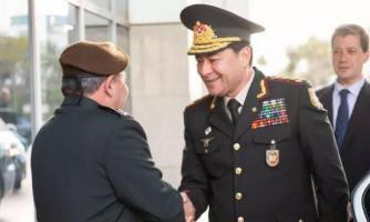 قائد الجيش الأذربيجاني يزور إسرائيل