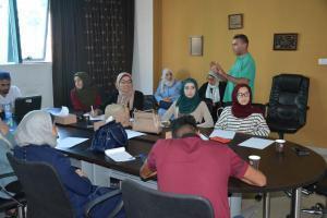 """""""الفلسطينية للتمكين"""" تنظم ورشة تدريب حول الممارسات الفضلى للأنظمة المالية"""