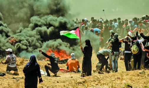 استطلاع للرأي: 67.8% من الفلسطينيين يؤيدون فكرة تهدئة طويلة الأمد مع الاحتلال
