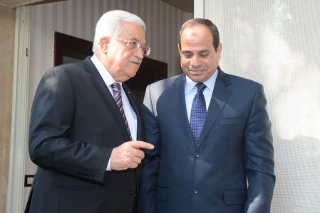 الرئيس عباس والسيسي
