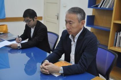 سفير اليابان: قريباً معلمين من قطاع غزة إلى طوكيو