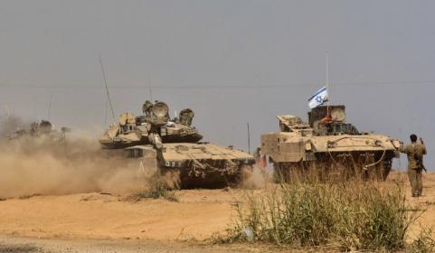 توغل اسرائيلي على حدود وسط قطاع غزة