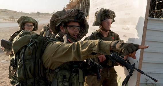 الاحتلال يجري تدريبات عسكرية شمال غرب نابلس
