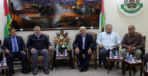حماس تجري سلسلة مشاورات مع فصائل وشخصيات وطنية في غزة