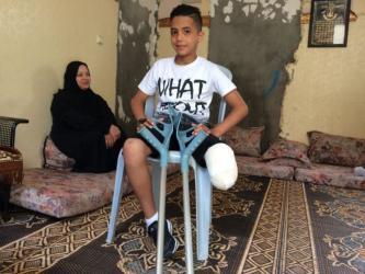 تقرير حقوقي: الاحتلال يسعى لتحويل أطفال فلسطين للمعاقين