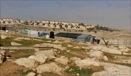 الاحتلال يصادر مدرسة للبدو بالاغوار