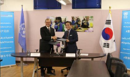 400 ألف دولار من كوريا الجنوبية للأونروا