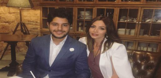 بعد انتشار الفيديو: نجل راغب علامة يخرج عن صمته ويكشف سبب منعه والدته من الرقص
