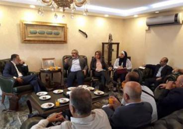 إتحاد رجال الأعمال الفلسطيني التركي يستقبل وفدا فلسطينيا