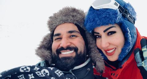 سمية الخشاب تستعد للعودة للسينما بعدغياب 6 سنوات مع زوجها