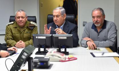 انتهاء جلسة الكابنيت الخاصة بالوضع الأمني في غزة