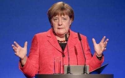 ميركل : المانيا تبذل أقصى جهودها للتوصل لتهدئة في قطاع غزة
