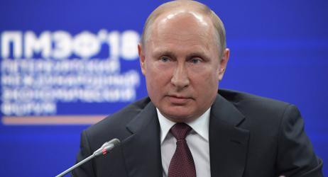 """بوتن يهدد: الروس """"مكانهم الجنة"""" إذا اندلعت حرب نووية"""