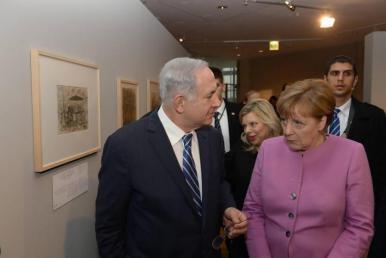 ميركل تصل إسرائيل في زيارة رسمية