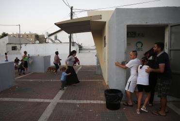 أصوات إنفجارات في غلاف غزة بعد دوي صافرات الانذار