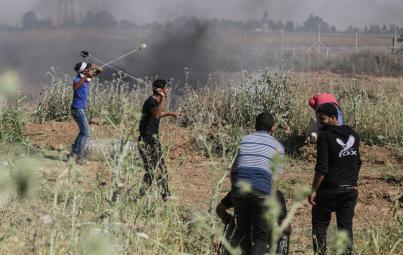 """حماس: من يراهن على تراجع مسيرات العودة """"واهم"""""""