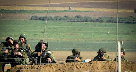 إطلاق النار نحو مجموعة مواطنين شرق غزة