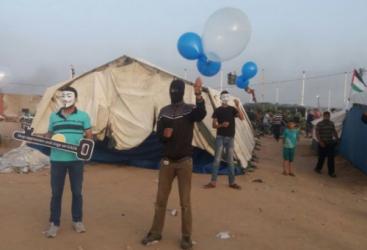 """مخاوف إسرائيلية من انتشار """"البالونات الحارقة"""" في الضفة الغربية"""