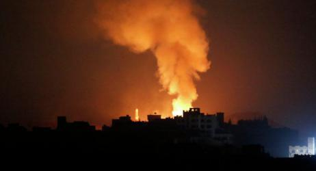 طائرات الاستطلاع تستهدف مجموعة شبان في قطاع غزة