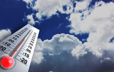 انخفاض على الحرارة وأجواء غائمة جزئيا