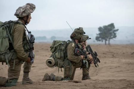 جيش الاحتلال يجري تدريبات عسكرية في الأغوار الشمالية