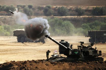 طائرة استطلاع تستهدف نقطة للمقاومة قرب خيام العودة شرق رفح