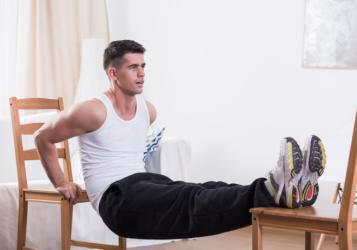 شاهد.. برنامج تدريبي لتضخيم العضلات للمبتدئين في المنزل