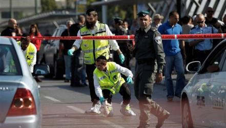 إصابة جندي ومستوطنة بعملية طعن قرب نابلس