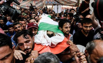 استشهاد شاب برصاص جيش الاحتلال بمدينة الخليل