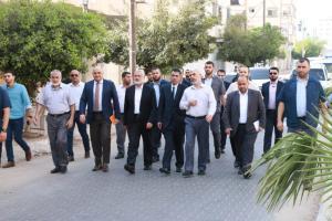 الوفد الأمني المصري يصل قطاع غزة