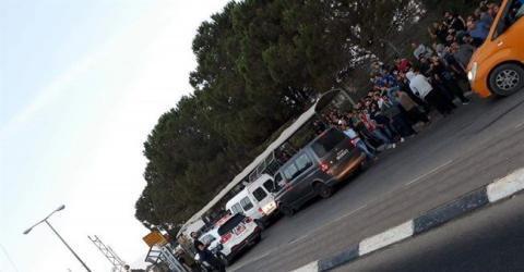 """الاحتلال يمنع العمال الفلسطينيين من دخول """"بركان"""""""