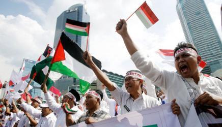 """إندونيسيا تدين قصف """"إسرائيل"""" لغزة وتؤكد دعمها للفلسطينيين"""