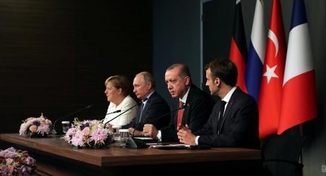 بيان مشترك: قادة 4 دول يبدون قلقهم إزاء تهديدات الأمن العالمي القادمة من سوريا